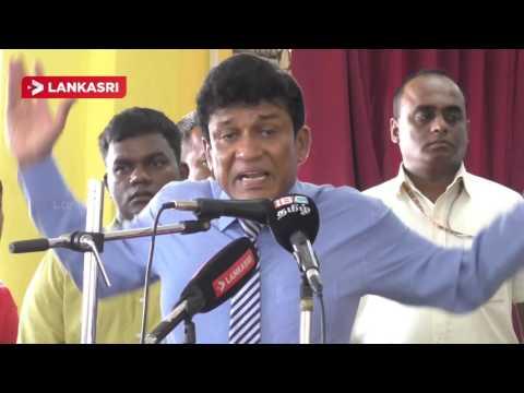 Mano Ganesan speech about Srilanka peace