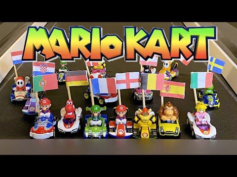 MARIO KART RACE PREDICTS EURO 2020 WINNER! ???? #Shorts