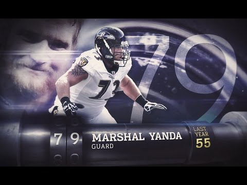 #79 Marshal Yanda (G, Ravens) | Top 100 Players of 2015