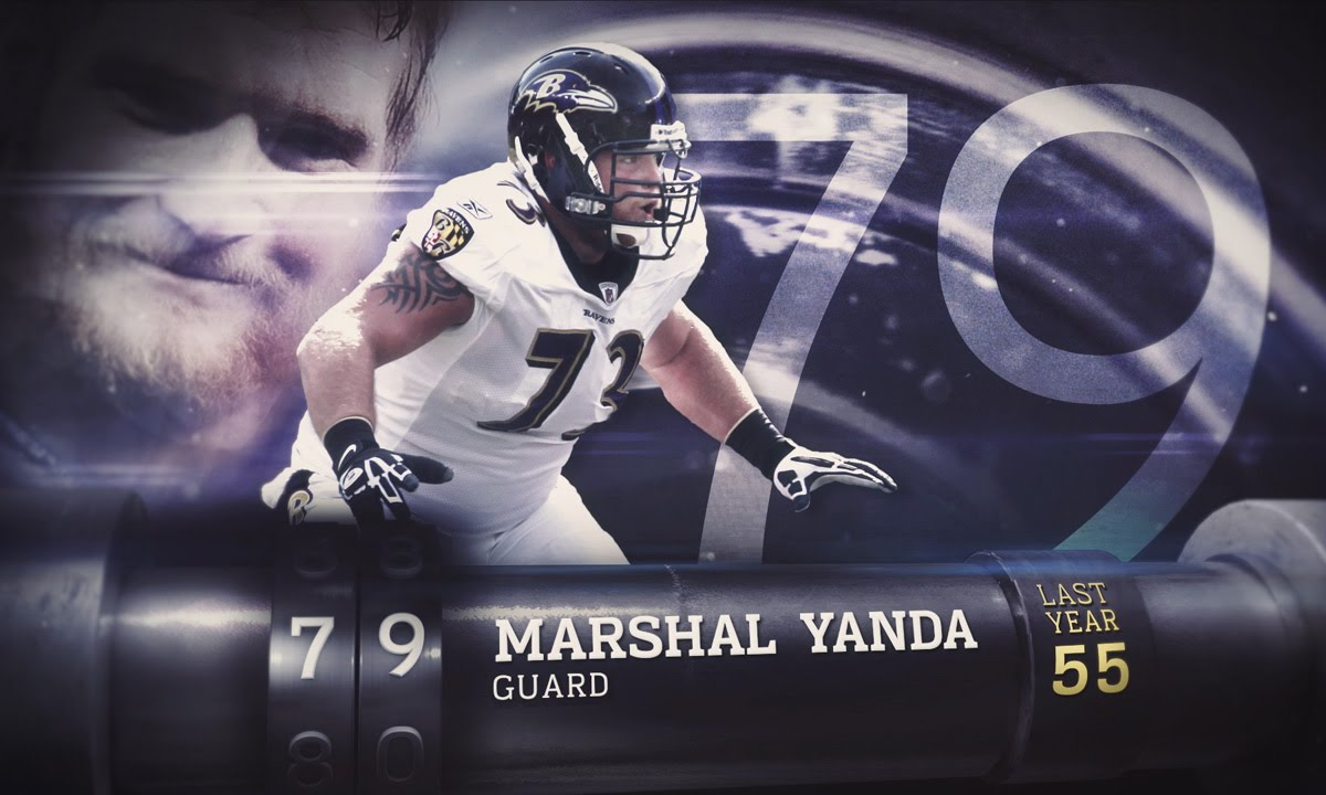 79 Marshal Yanda G Ravens