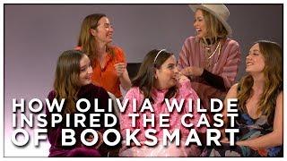 How OLIVIA WILDE Inspired the Cast of BOOKSMART Movie | Booksmart Interview