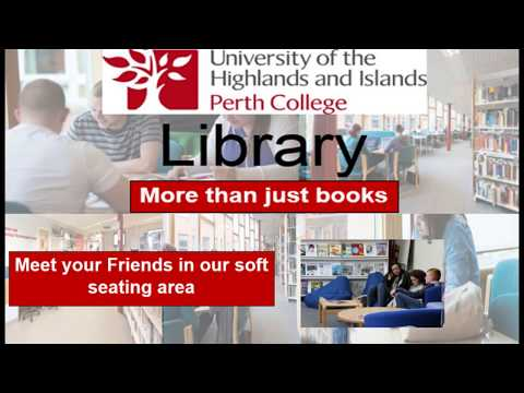 "Perth College Library - More than ""Just Books"""