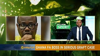 ghana fa boss nyantakyi on the spot on graft sport
