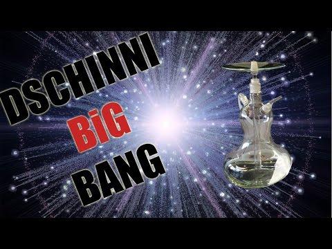 Dschinni Big Bang Glas Shisha im Test