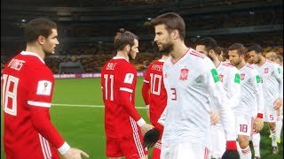 Wales vs Spain   International Friendly 2018   PES 2018 Gameplay PC