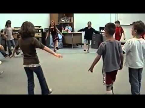Statue Freeze Song Music Activity for Children to help develop listening skills