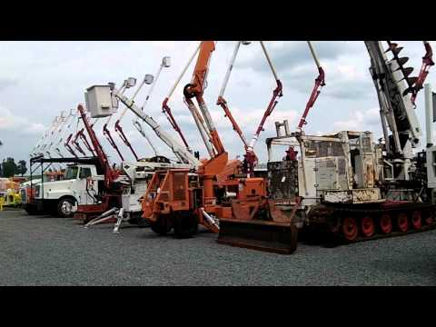 Construction And Utility Equipment Auction, Charlotte, NC - 7/26/12
