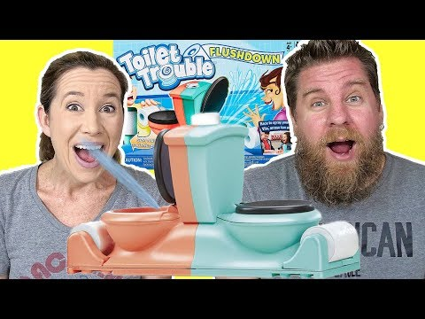 Toilet Trouble Flushdown Game Review & Play
