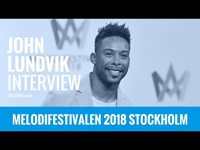 oikotimes.com: Interview with John Lundvik in Stockholm / Melodifestivalen 2018