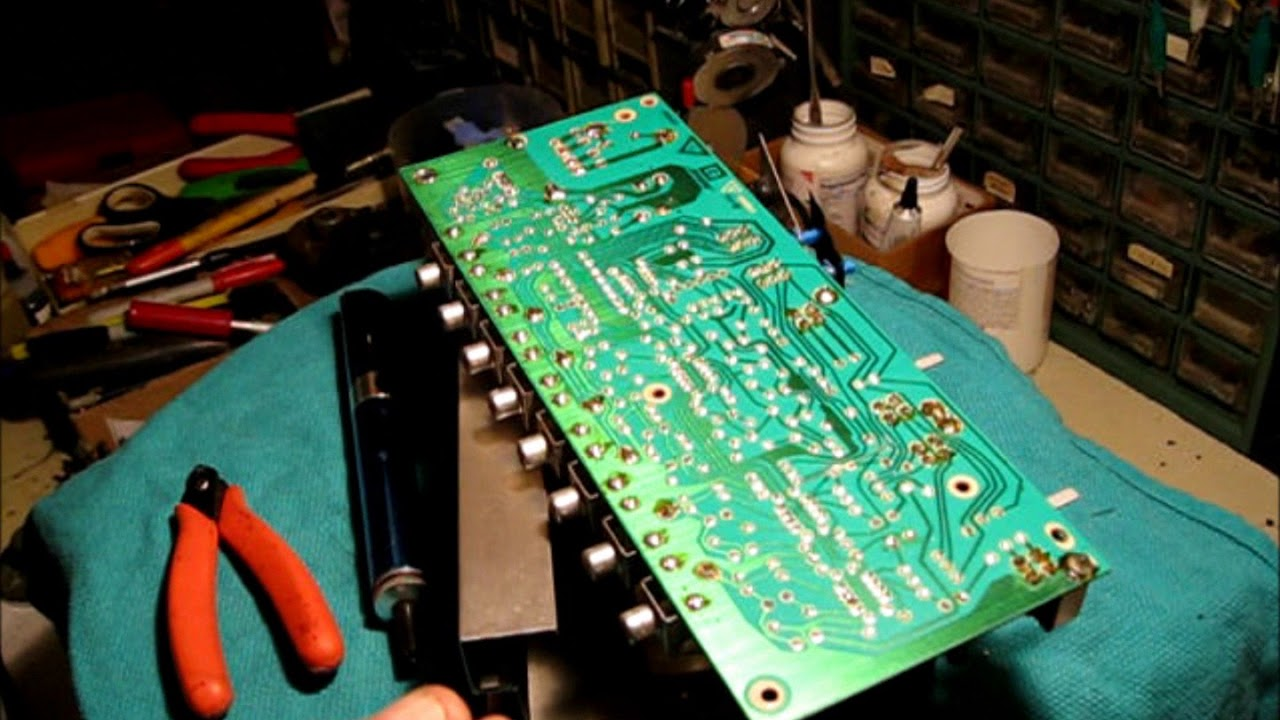 hight resolution of bose 901 series 4 equalizer repair