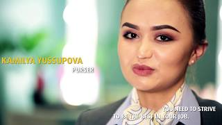 Air Astana Best Cabin Crew 2017