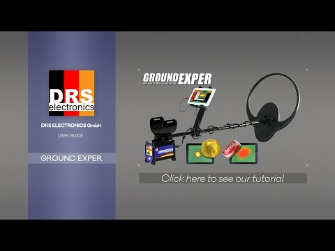 DRS Ground Exper, professional detector (introduction, features and demo)