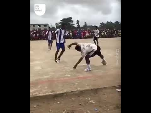 insane African street Football