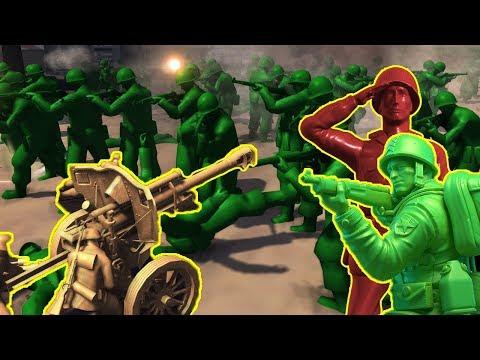 Toy Artillery Overkill - Army Men of War