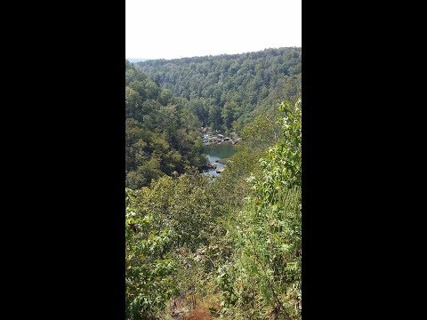 Alabama Adventures - Devil's Doorway  in Little River canyon