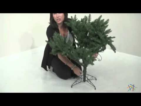 8d7ffca031c Classic Pine Full Pre-lit Christmas Tree - Product Review Video ...