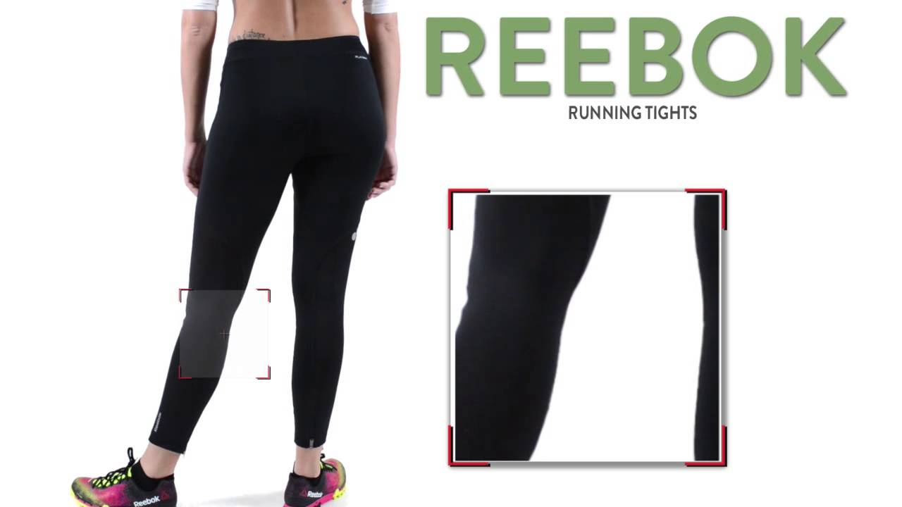 7a7db475c2233 Reebok Running Tights (For Women) - YouTube