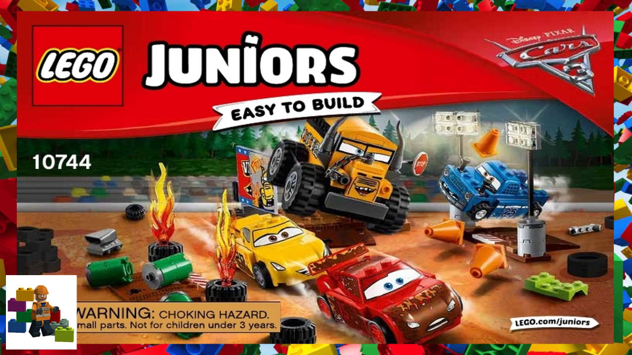Lego Instructions Juniors Cars 3 10744 Thunder Hollow Crazy