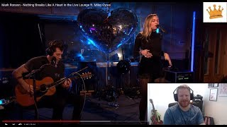 Mark Ronson - Nothing Breaks Like A Heart in the Live Lounge ft. Miley Cyrus | PW Live Reaction | Video
