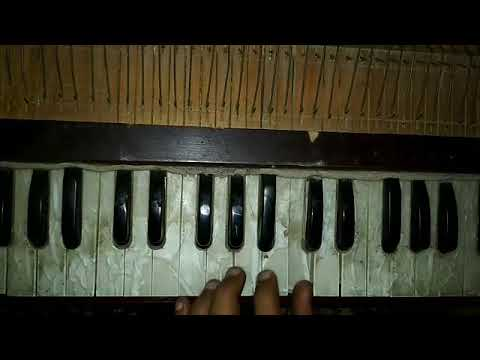 Tere mere beech mein-play harmonium