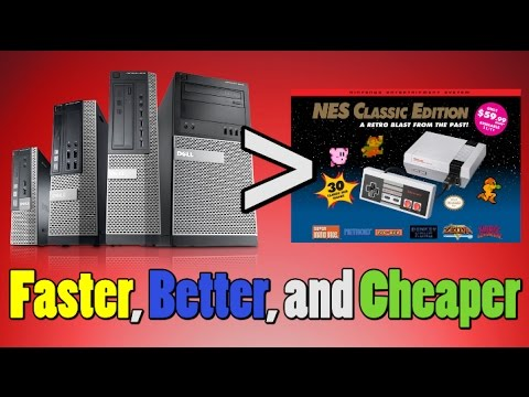 Console Theory: A 17 Year Old Computer VS The NES Classic?