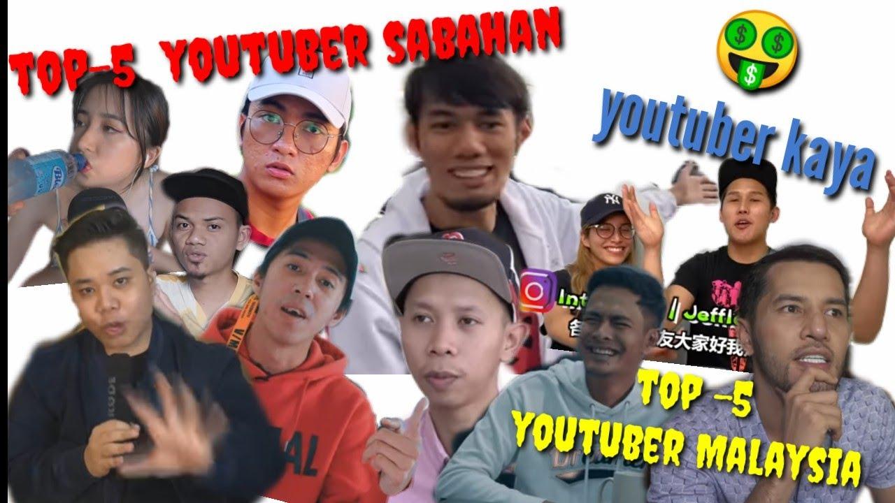 Top 5 Youtuber Malaysia And Sabah Youtube