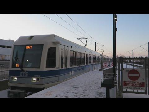 Edmonton's Subway Train (LRT) - Capital Line