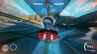 GRIP 1.2.5 GAMEPLAY! New track, car and weapon!