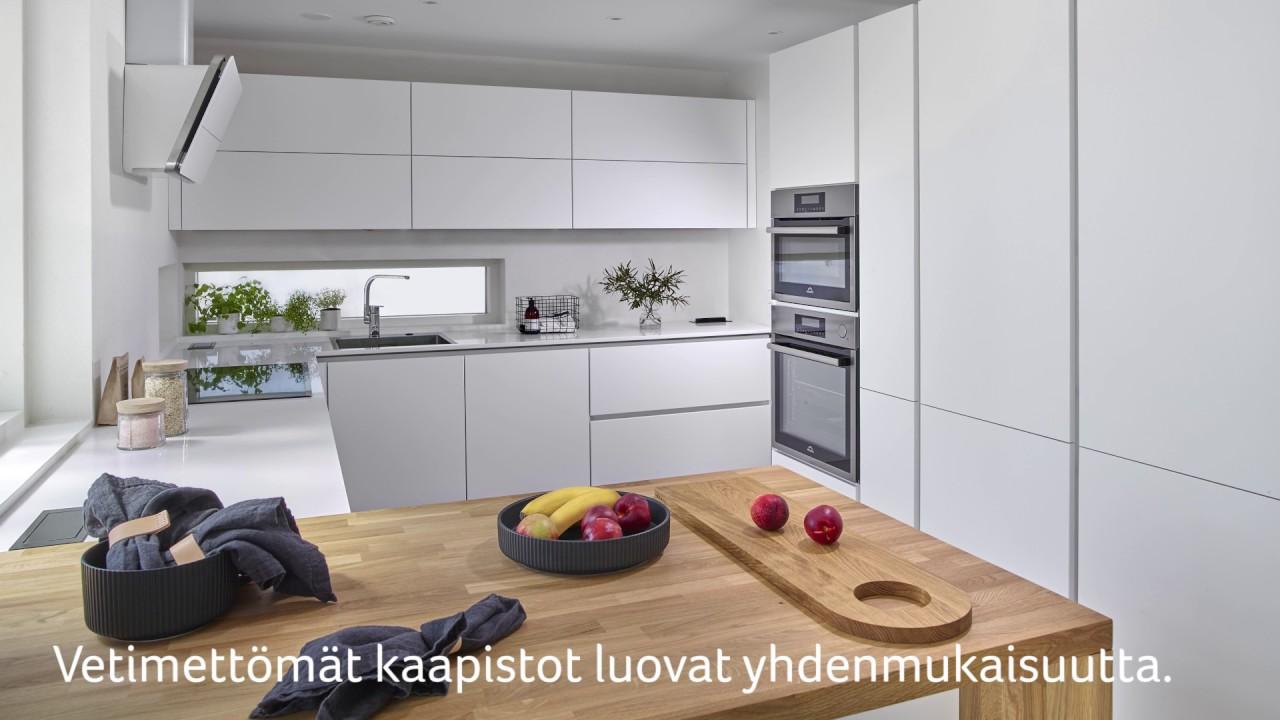 Casa WelliKulho  Mikkelin asuntomessut 2017 (Noblessa keittiö)  YouTube