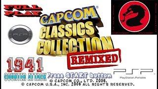1941 Capcom Classics Collection Remixed PSP