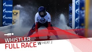 Whistler | BMW IBSF World Cup 2016/2017 - Women's Skeleton Heat 2 | IBSF Official