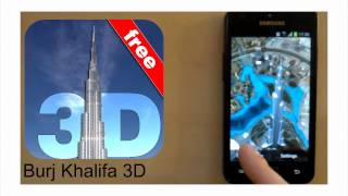 Burj Khalifa 3D Live Wallpaper for Android