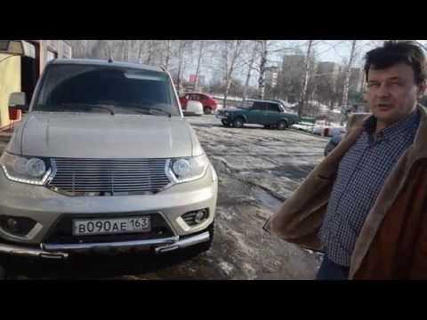 Обвес на УАЗ Патриот