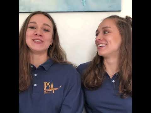 Les jumelles Charlotte et Laura Tremble, 2 étudiantes en route pour Tokyo !