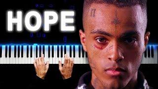 Xxxtentacion - Hope  Piano cover