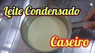 LEITE CONDENSADO CASEIRO – em apenas 3 minutos