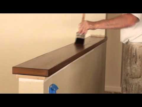 How To Ly Varnish Or Polyurethane Clear Finishes Stain Part 4 You