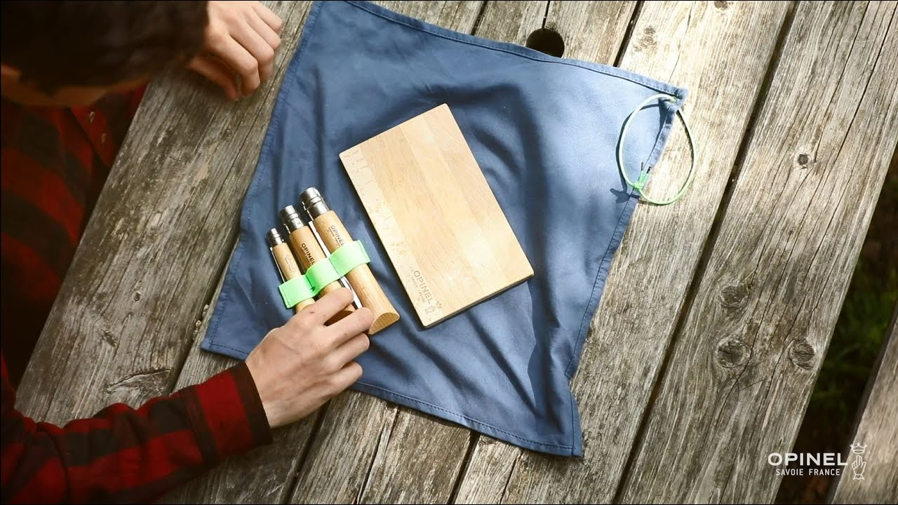 Kit Cuisine Nomade Opinel Youtube