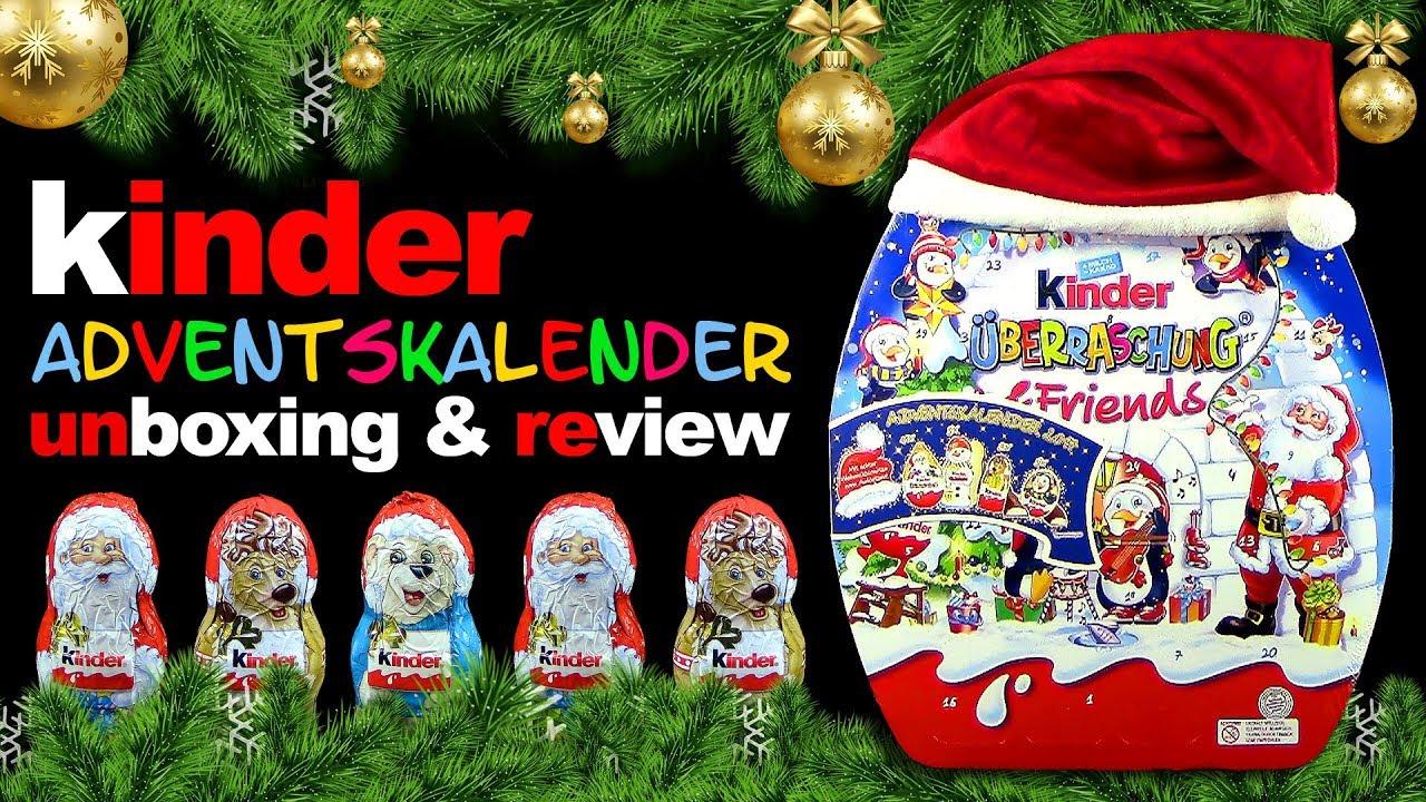 Kinder Weihnachtskalender.Kinder Maxi Julekalender 2017