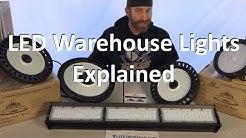 LED Warehouse Lights Explained - Buyers Guide on Warehouse LED Lighting & LED High Bay Light