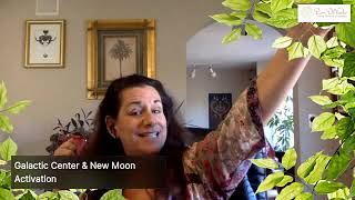 Galactic Center New Moon Activation Guided by Divine Mother