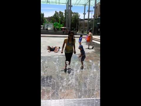 Fun in the sun at Perth mall!