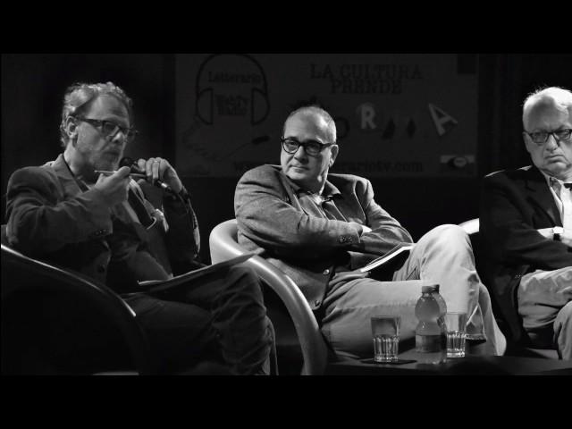 Presentazione della Festa di Achab a Roma, nella trasmissione di Alberto Gaffi a Radio Città Futura.