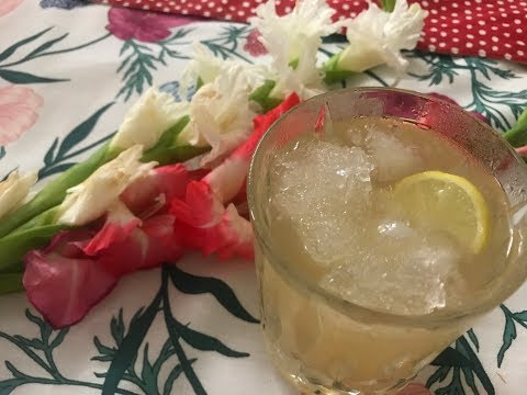 Refreshing Ginger Ale Mocktail to Beat the Heat! Episode 20