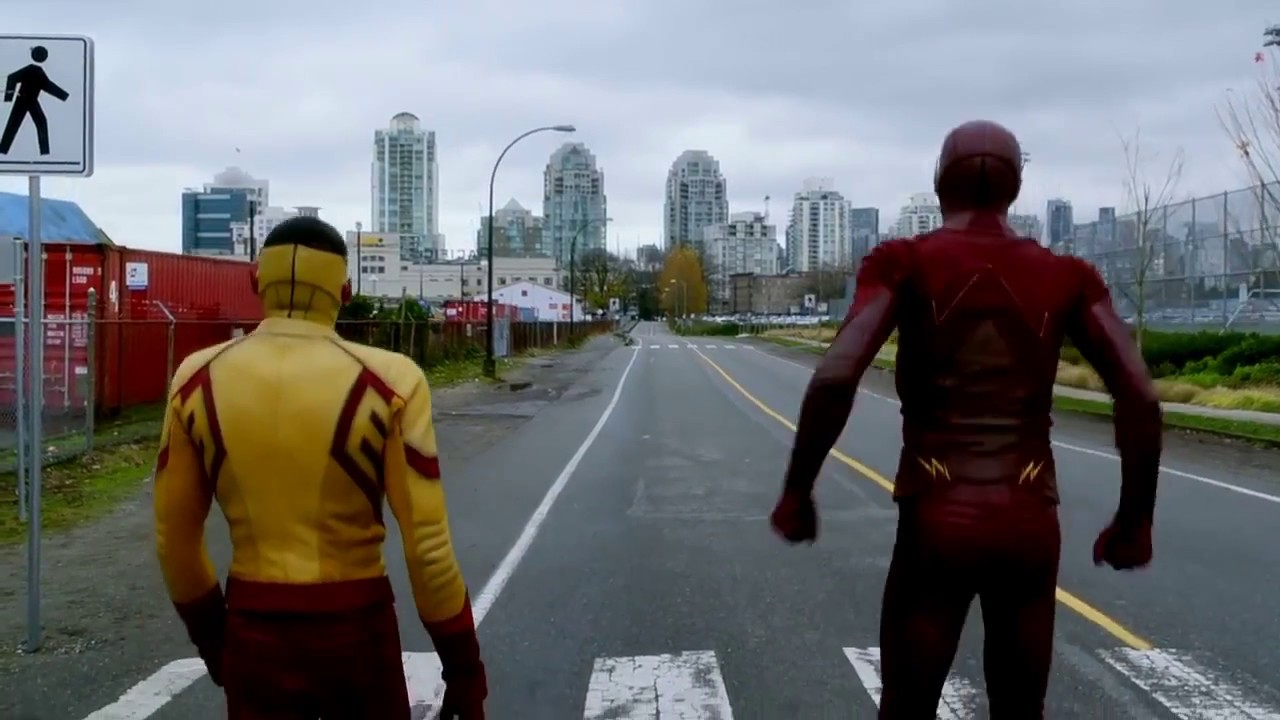 Download The Flash 3*12 Barry races wally