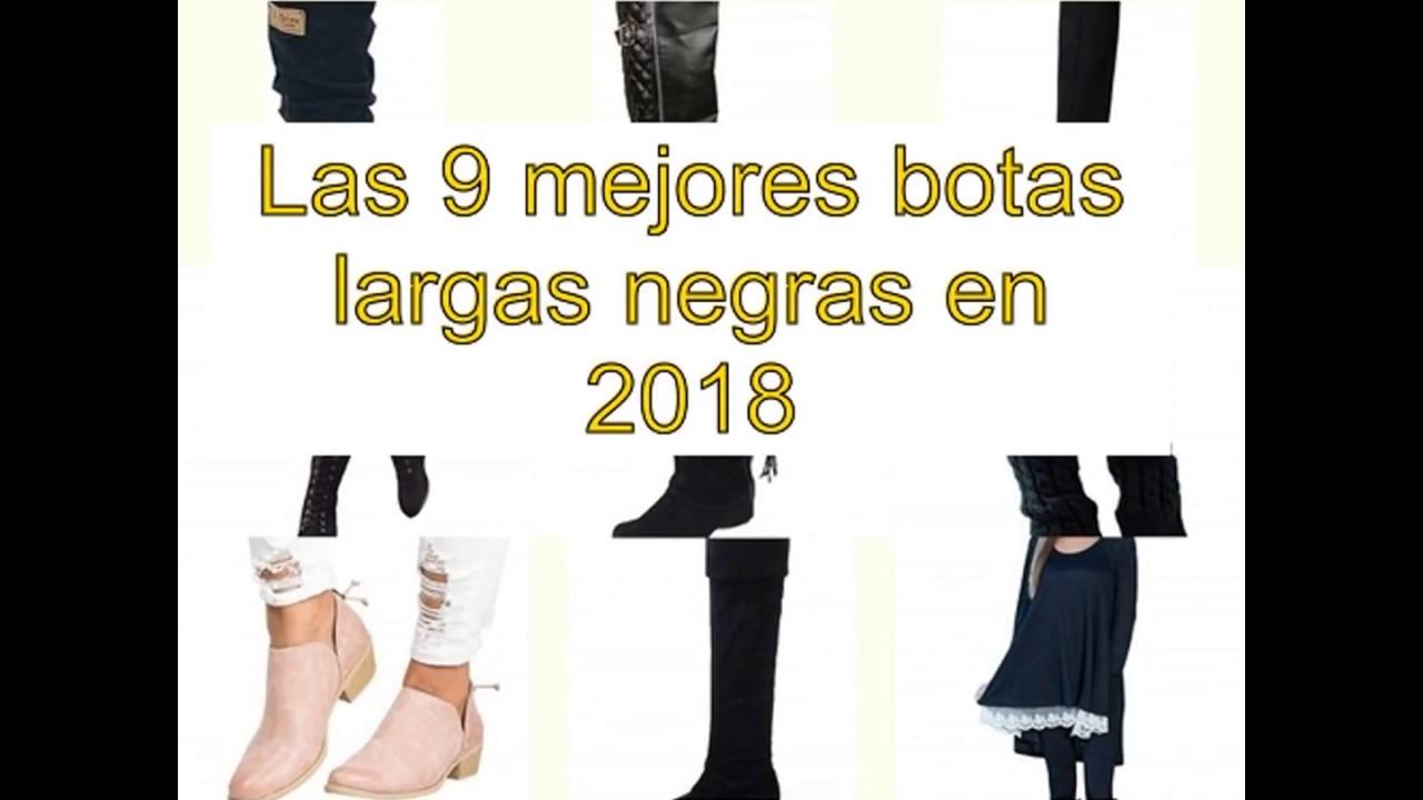 159e2b15b68d1 Las 9 mejores botas largas negras en 2018 - YouTube