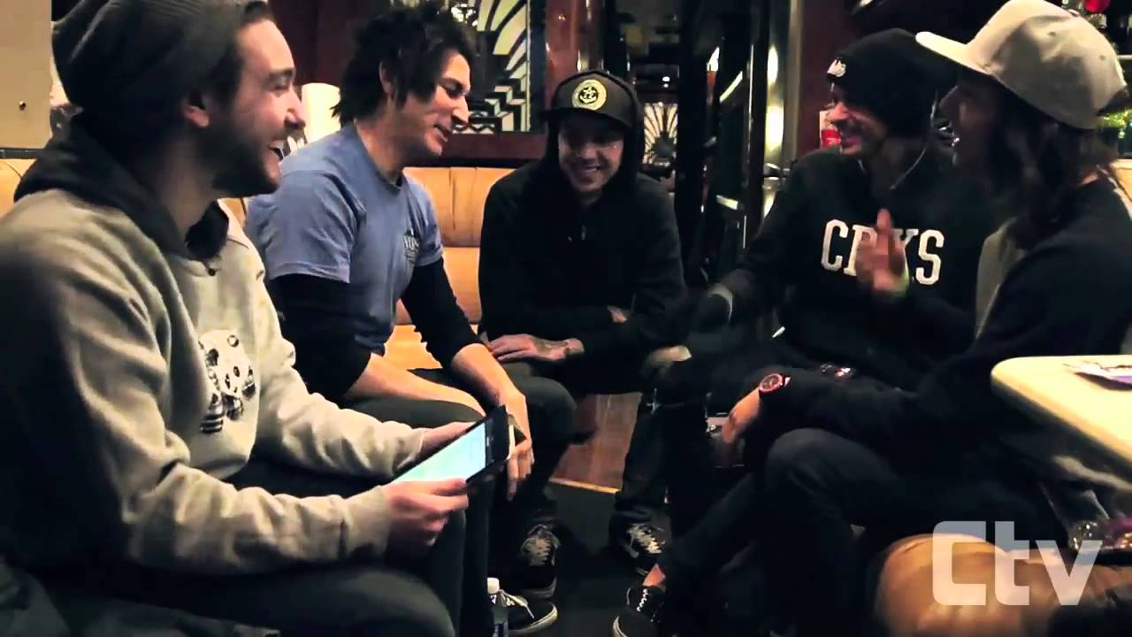 Pierce the veil interview creepy man hickies tracking down big pierce the veil interview creepy man hickies tracking down big foot youtube m4hsunfo