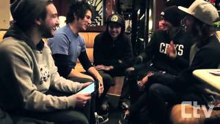 PIERCE THE VEIL interview | Creepy Man Hickies | Tracking Down Big Foot