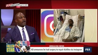 [BREAKING NEWS] Kevin Durant announces he had surgery to repair Achilles   SPEAK for YOURSELF