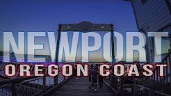 Oregon Coast Newport July 4th Fireworks
